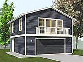 Apartment garage plans garage plans blog behm design Two story garage apartment