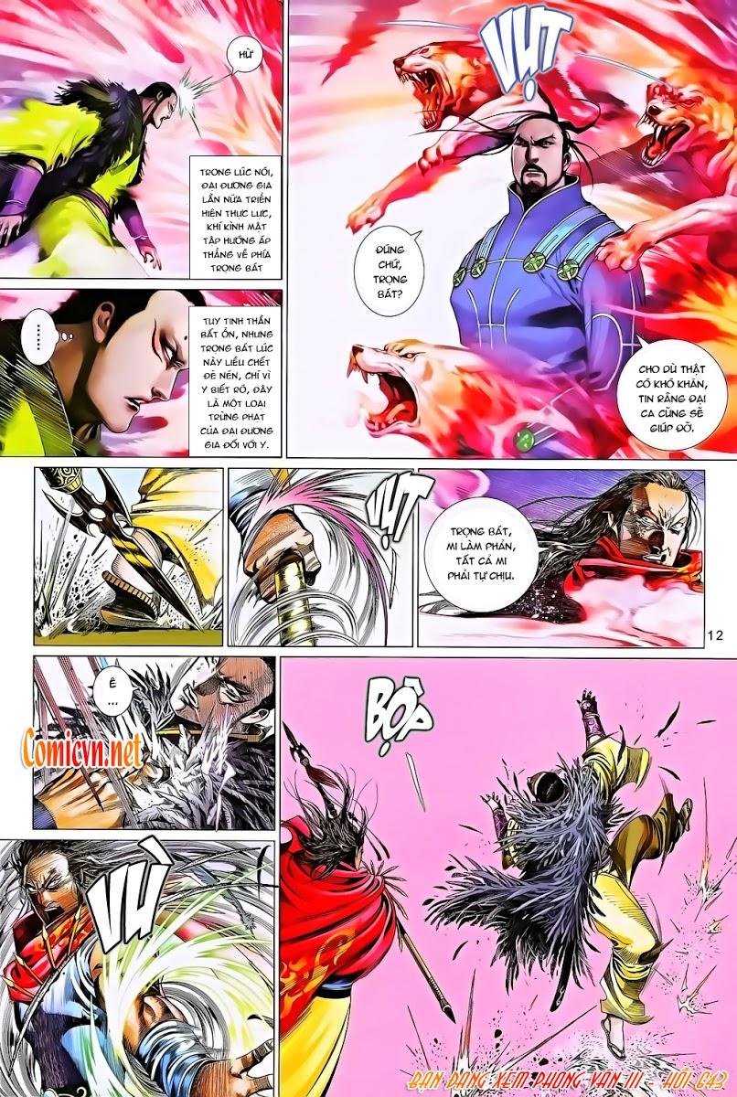 Phong Vân chap 643 Trang 12 - Mangak.info