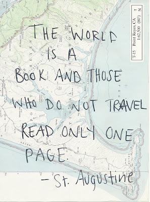 """Viajar te abre la mente, te hace ser más respetuoso, emplear tiempo el viajar es el mejor regalo que te puedes hacer a ti mismo. Frase molona de viajes """"The world is a book and those who do not travel read only one page"""""""