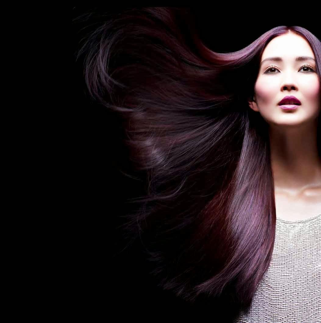 Olia Deep Violet Hair Color