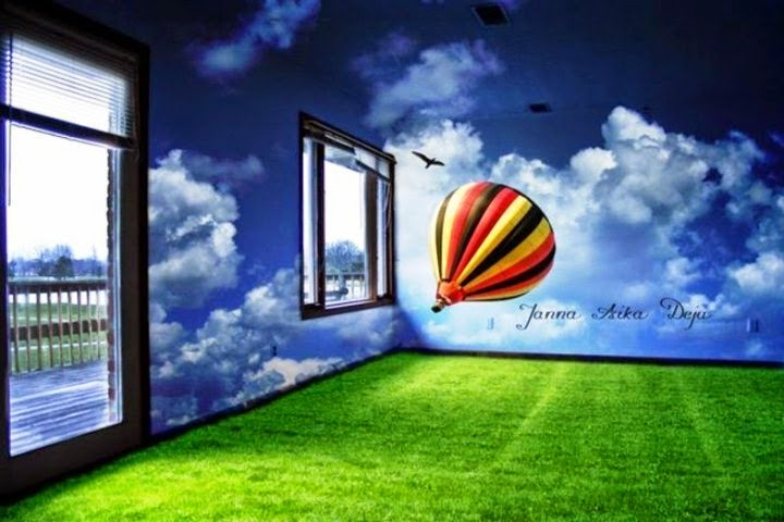 3d wall painting ideas for home