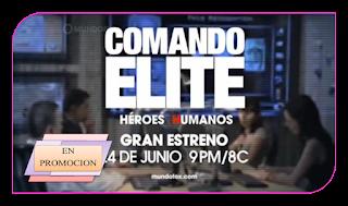 llega a las pantallas de Mundo Fox Comando Elite, la nueva serie ...
