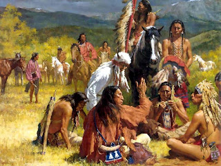 Thirteen Stripes and Fifty Stars  Native Americans