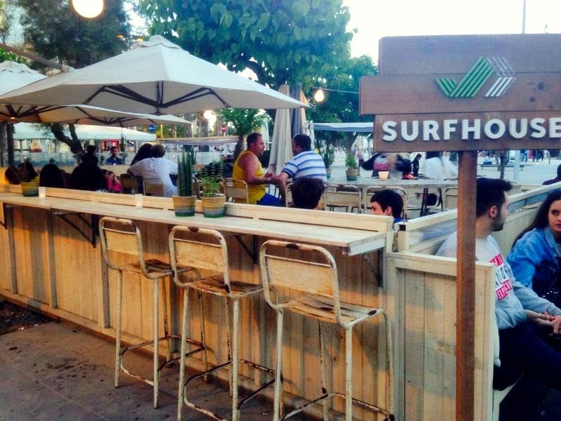 restaurante barcelona surf house