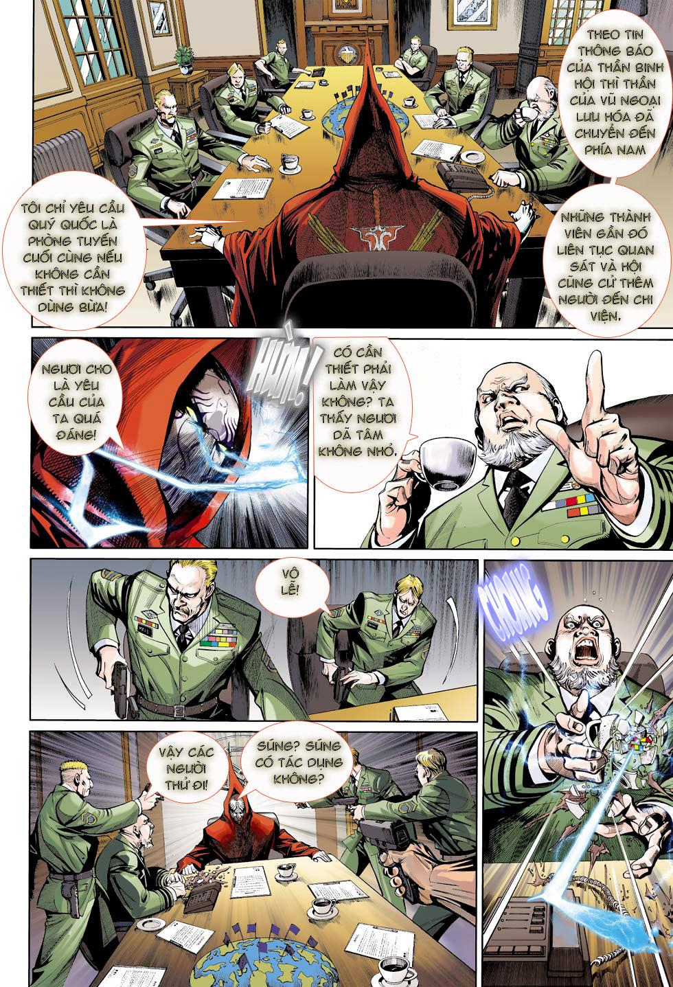 Thần Binh 4 chap 23 - Trang 30