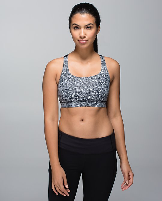 lululemon plush petal ghost energy bra