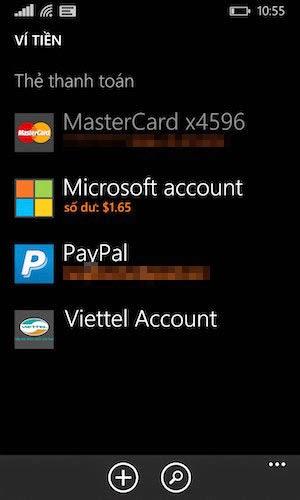 Cách thanh toán ứng dụng trên Windows Phone bằng tài khoản SIM điện thoại