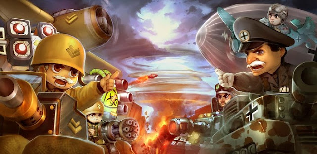 Little Commander - WWII TD v1.4.0 Apk Mod [Free Shopping]