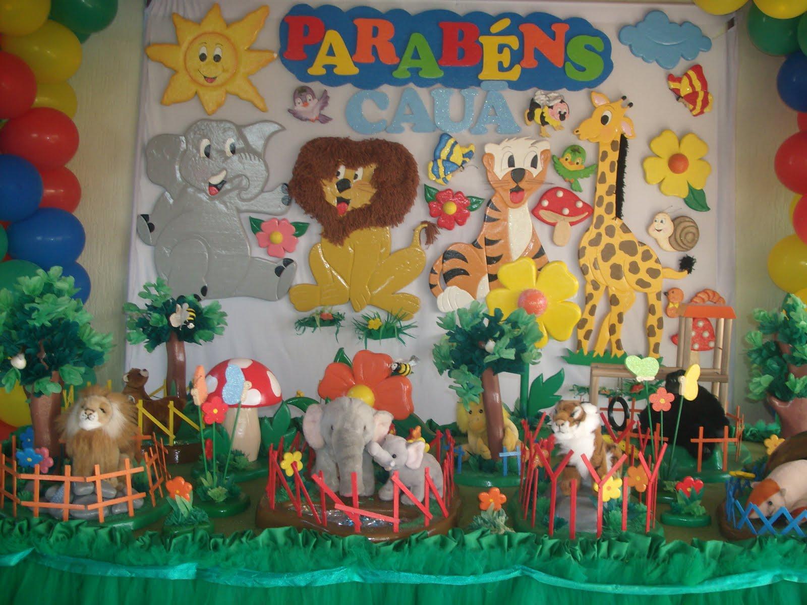 festa jardim zoologico:Dalva Festas: Tema: Zoológico