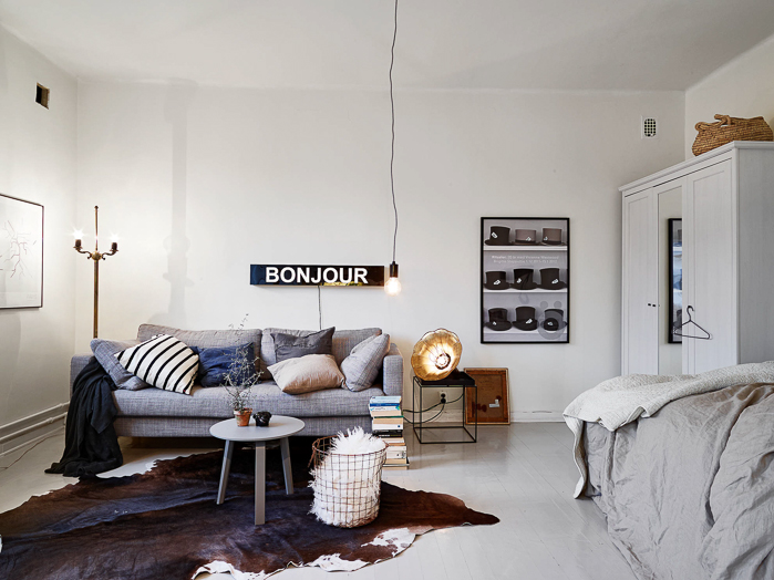 Interior design Small apartment Urban Nordic style