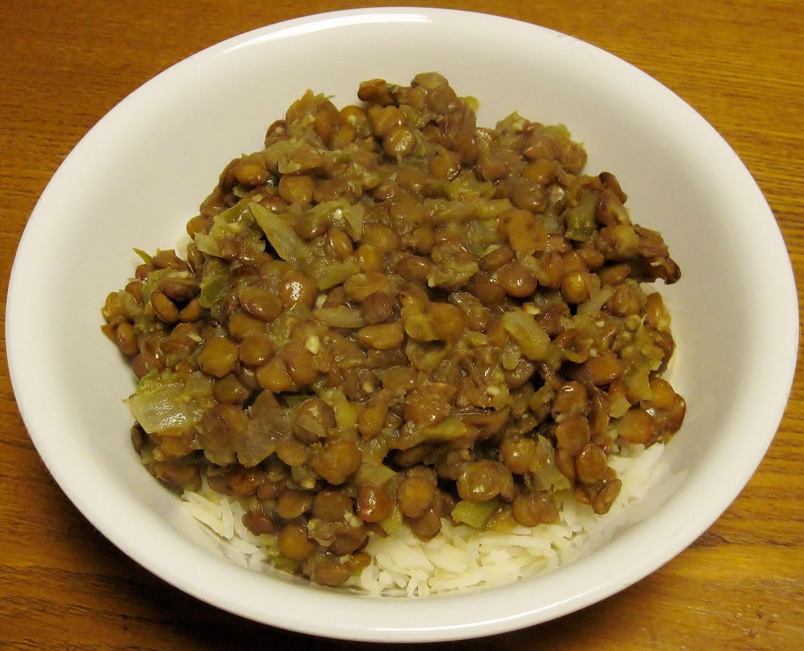 Carolina sauce company glorias moms cuban lentils cuban lentils recipe forumfinder Gallery