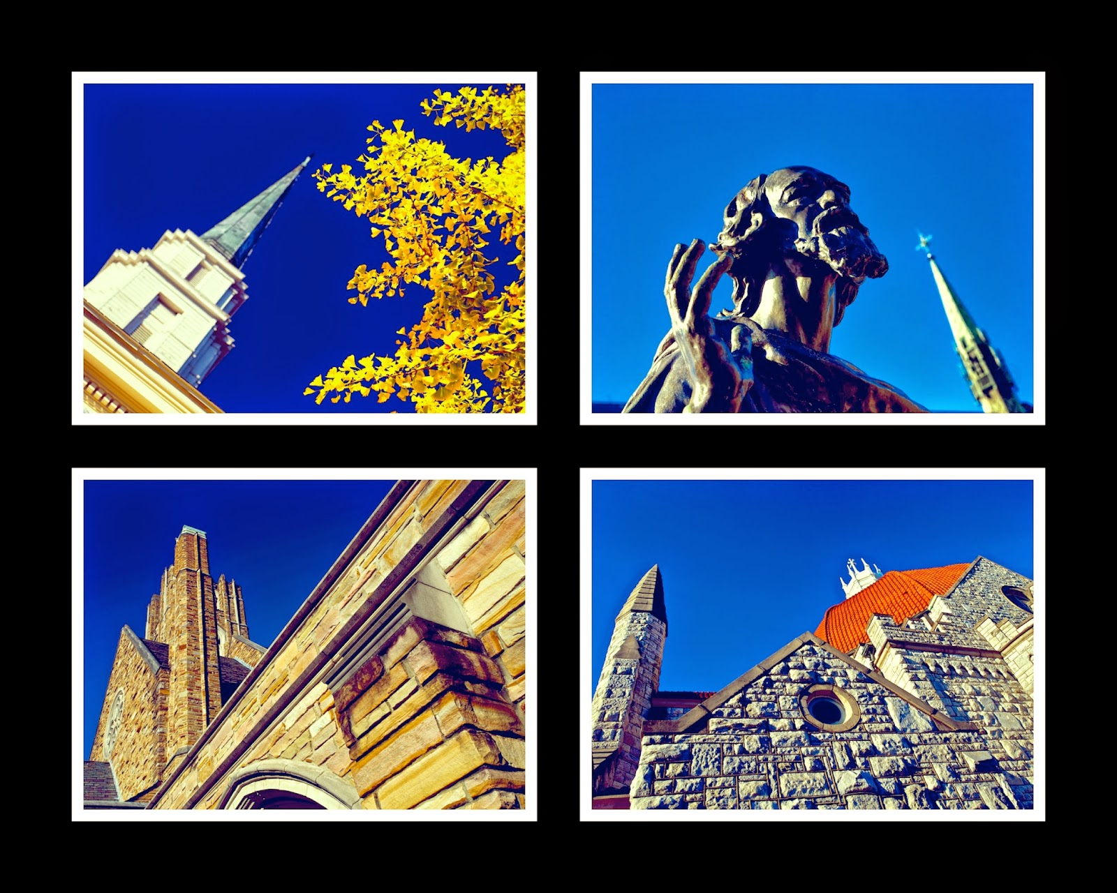 Colorful Steeples