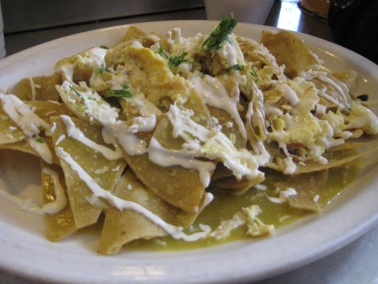 Chilaquiles Verdes Recipes — Dishmaps