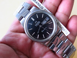 OMEGA GENEVE BLACK DIAL PART A - AUTOMATIC
