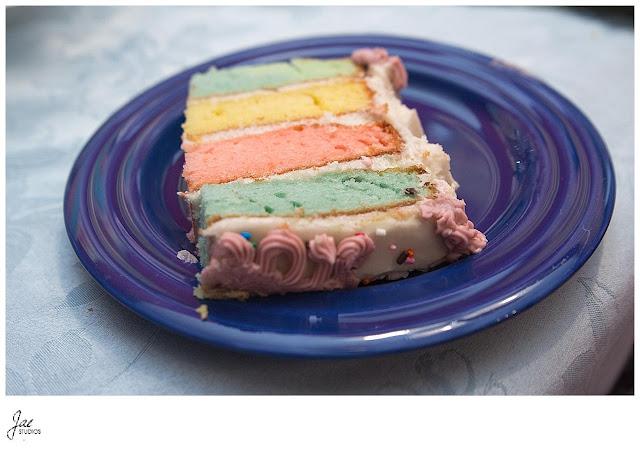 4 layer pastel Easter cake