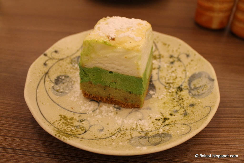 Matcha Green Tea Ice Cream Cake