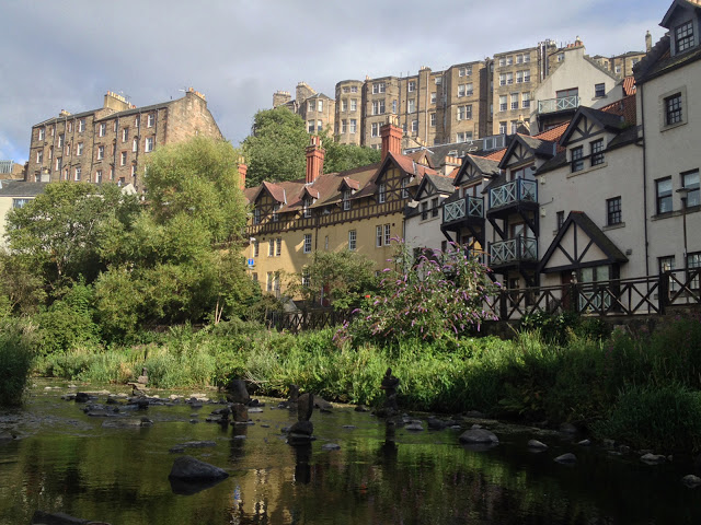the traditional working-class homes in Dean Village