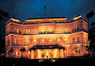 s famous hotels inwards Singapore is  the Raffles hotel Raffles Hotel inwards Singapore Mostly Atrictive Place
