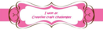 I won at Creative Craft Challenges