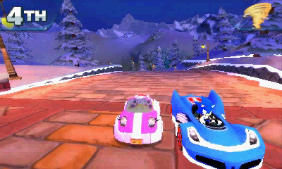 Sonic Race Car Decal