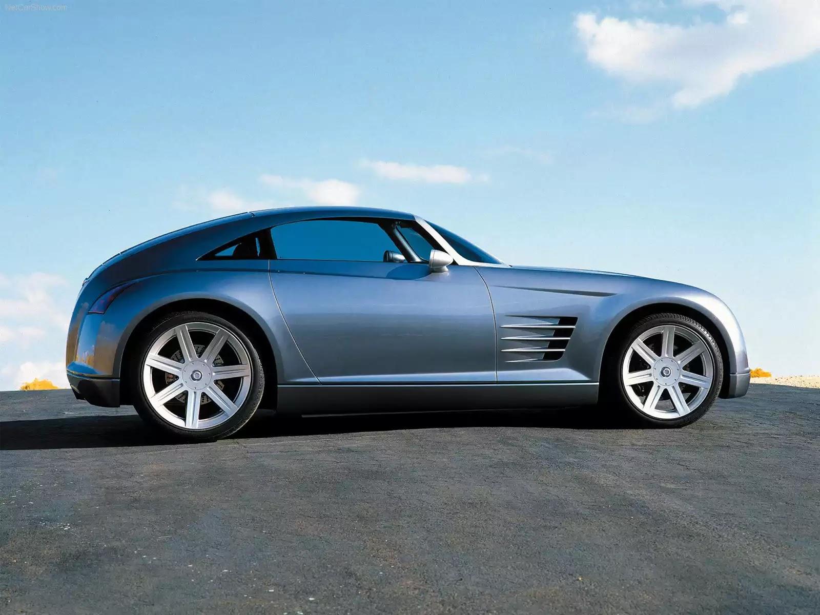 Hình ảnh xe ô tô Chrysler Crossfire Concept 2001 & nội ngoại thất