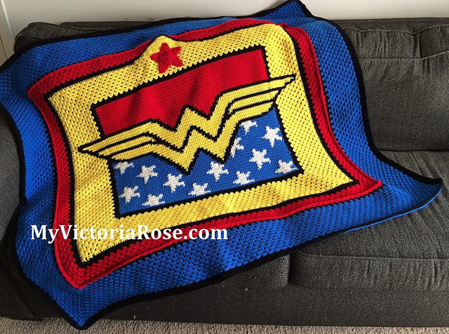 Wonder Knit Self Patterning Wool : Shes Crafty - Wonder Woman edition ~ Self-Rescuing Princess Society