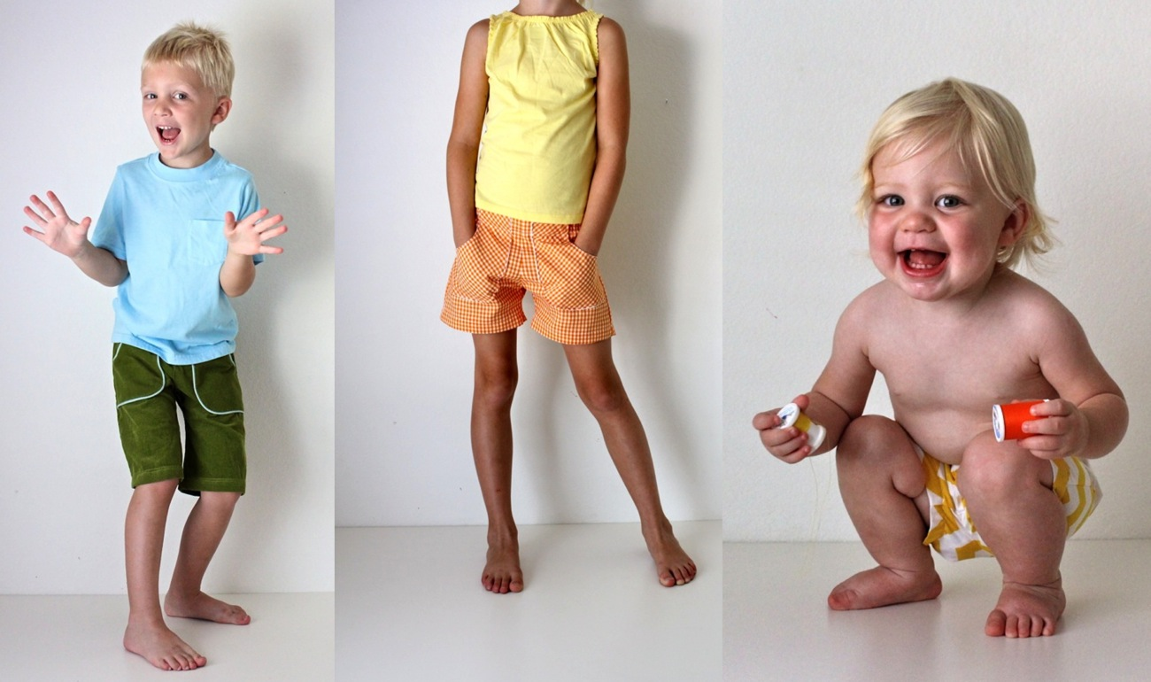 Pattern: KID Shorts—ages 12 months to 10 years – MADE EVERYDAY