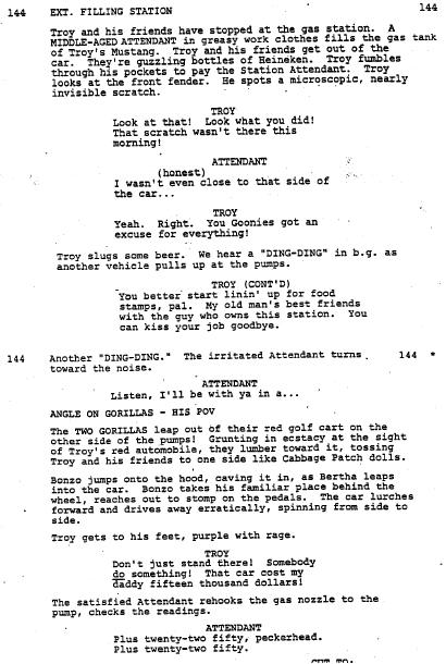 the goonies essay