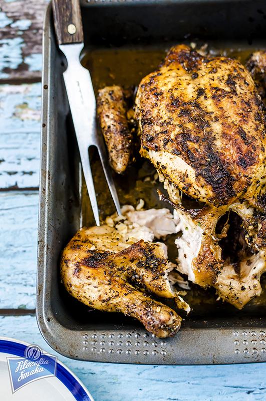 Kurczak cały pieczony
