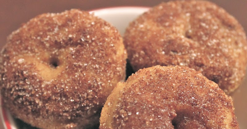 Cooking with Mandy: Mini Pumpkin Spice Donuts