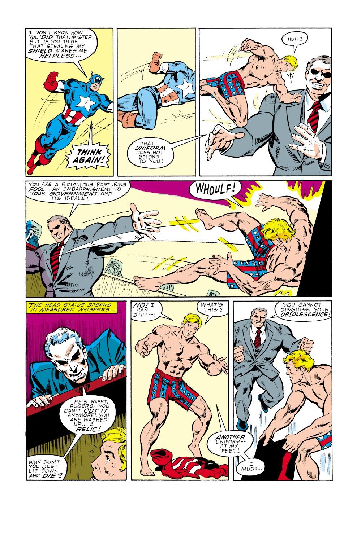 Captain America (1968) Issue #339 #268 - English 5