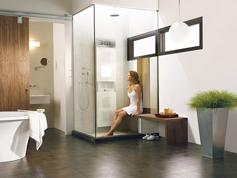 The Vedana Spa Shower System From Bain Ultra Makes It Possible To Enjoy  Five Different Therapies! Promoting Sensations Of Mental And Physical  Well Being, ...