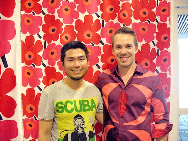Ben Liu and Teemu Muurimäki