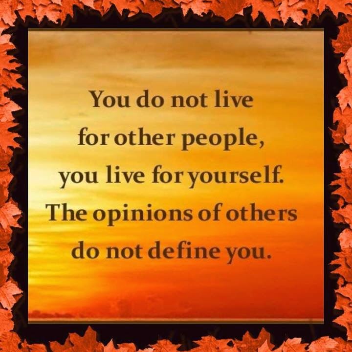 Quotes To Live For Others: Quotes & Inspiration: You Do Not Live For Other People