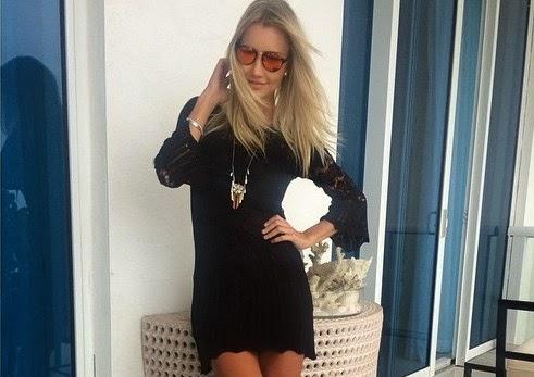 A empresária Ana Paula mostrou o look do dia e ganhou elogios de seus seguidores