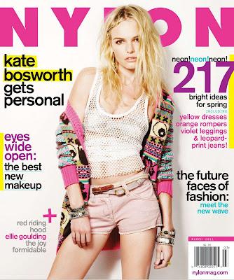 Kate Bosworth Nylon Magazine Photoshoot