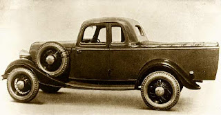 Worlds first Ford utility invented by an Australian