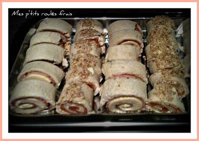 image Mes p'tits roulés jambon-toastinette et saumon-boursin