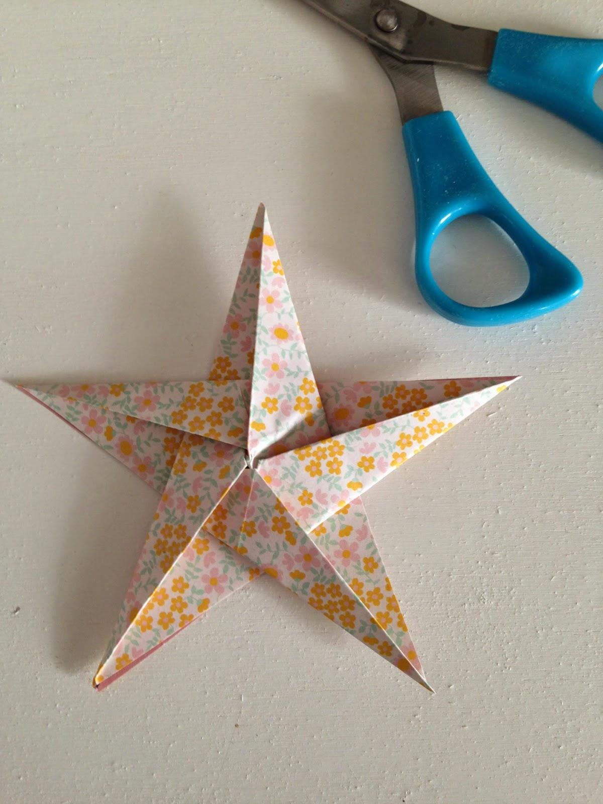 Tutorial stella origami
