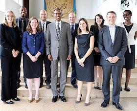 British advisors to Kagame's regime