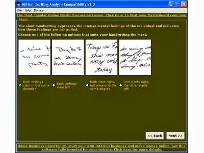 Handwriting Analysis Pdf