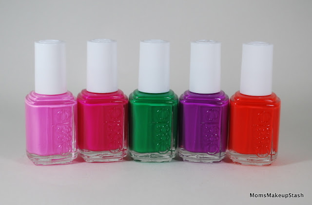 Essie Neon Collection for Spring 2013 (Photos, Review & Swatches) - Moms Makeup Stash