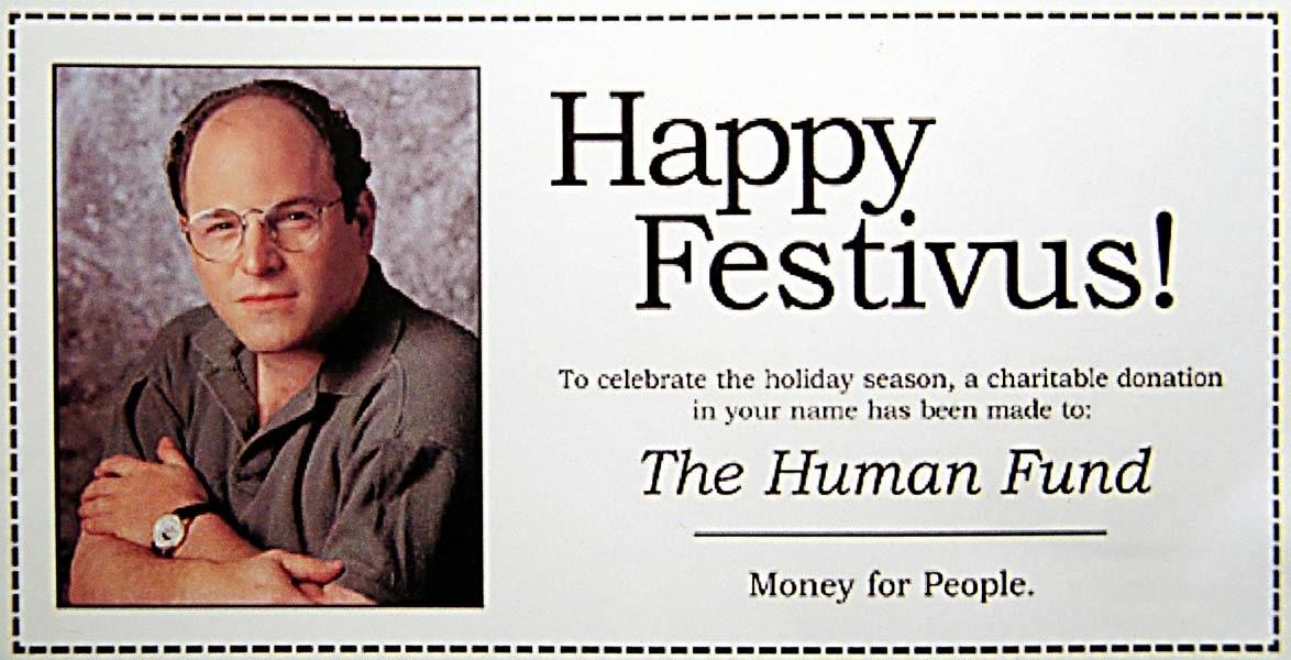 Humanist Mom: Reverend Billy, Festivus, and Bringing ...