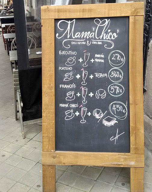 Restaurante Mamá Chicó en A Coruña.