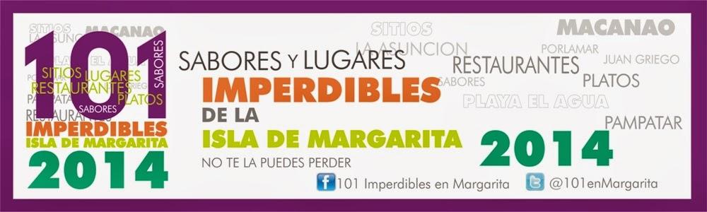 101 SABORES Y PLATOS IMPERDIBLES DE MARGARITA 2014