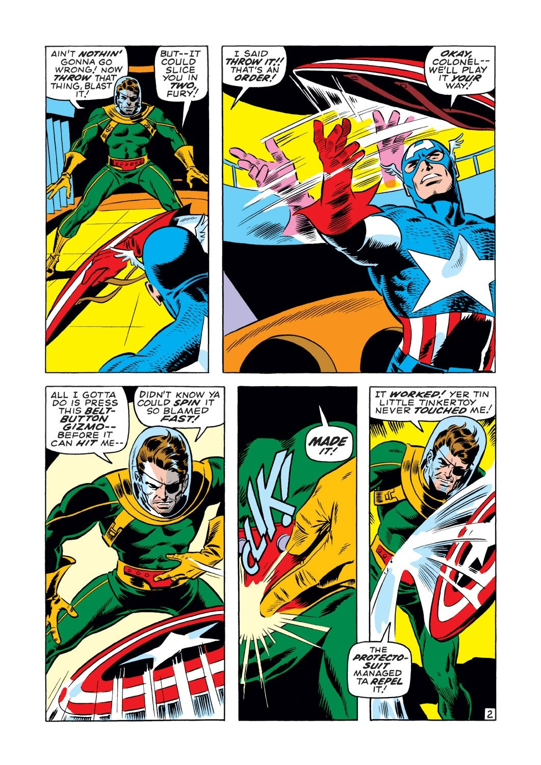 Captain America (1968) Issue #127 #41 - English 3