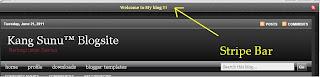 stripe bar di blognya kang sunu, stripe bar blogger, stripe ad for blogger, stripe bar preview