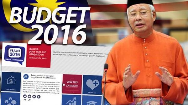 Bajet 2016, Najib