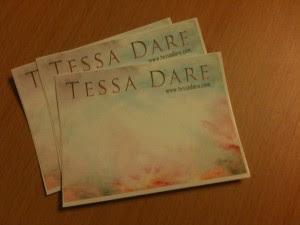 Tessa Dare autographed bookplate