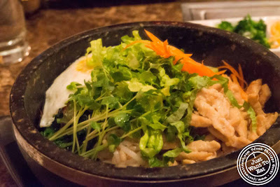 image of Chicken bibimbap at Bann Korean BBQ in NYC, New York